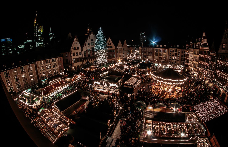Frankfurter Weihnachtsmarkt.Frankfurter Weihnachtsmarkt Foto Bild Karten Und Kalender