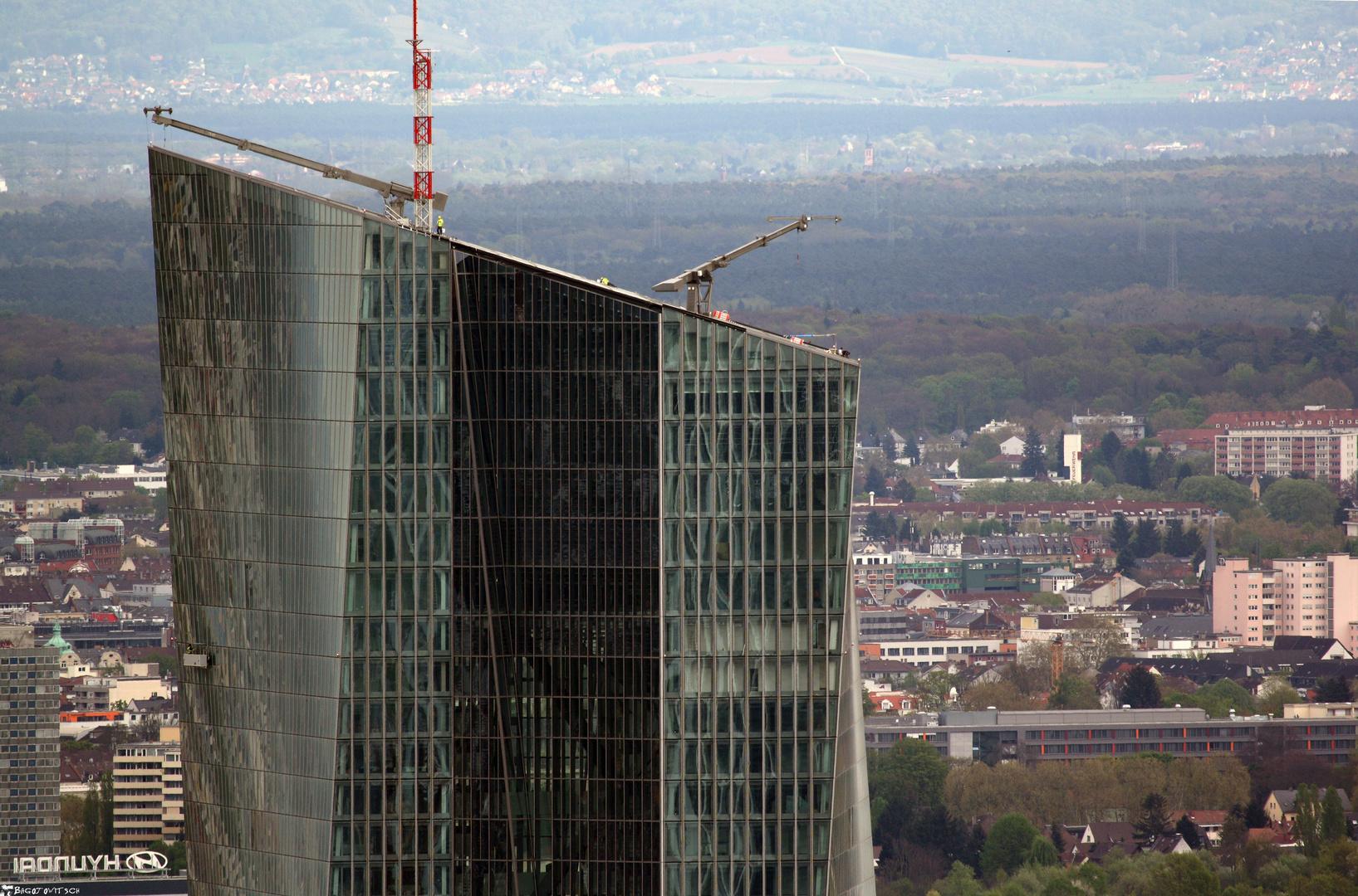 Frankfurter Wolkenkratzer - Europäische Zentralbank