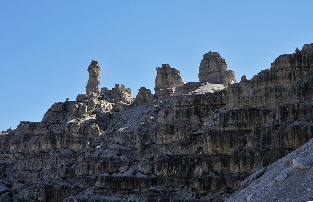 Frankfurter Würstel heißt ofiziell dieser  Felsen, ein Schelm wer was anderes denkt...