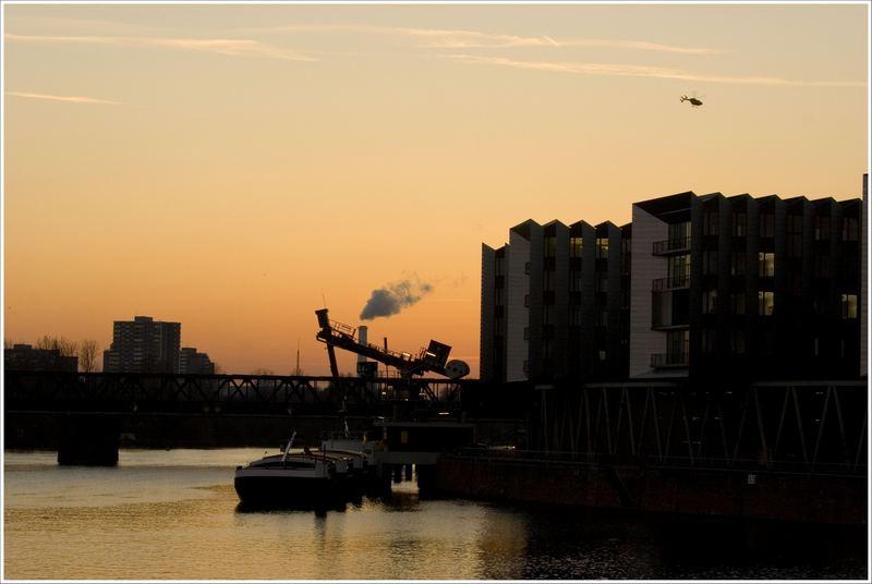 Frankfurt/M. Westhafen Sunset