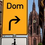 Frankfurt/Main: Wo, bitte, geht's hier zum Dom?
