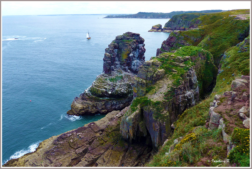 Frankreich - Bretagne - Granitküste