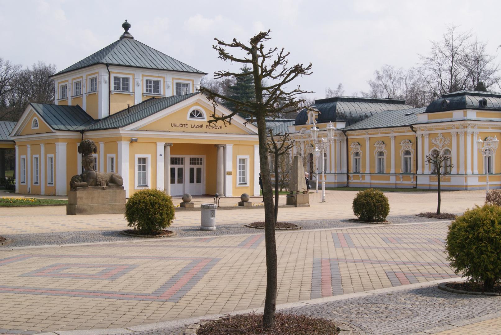 Franzensbad-verlassener Park