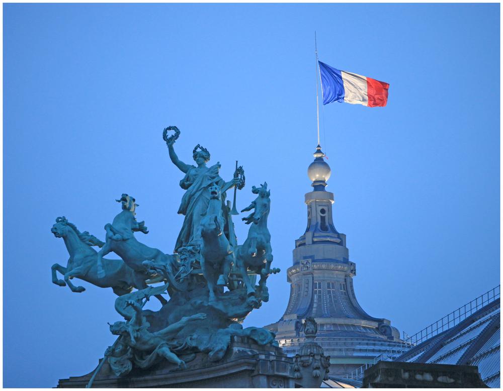 französisch blau