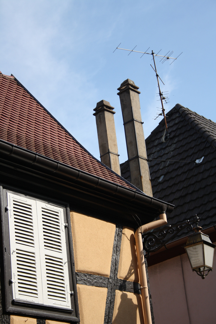 französische Dächer