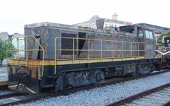 Französische Diesellok in Kuba