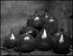 Französische Flaschen