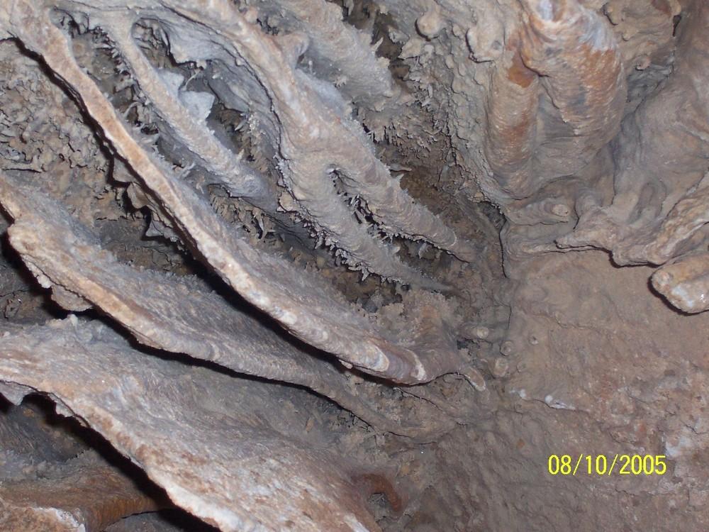 Französische Tropfsteinhöhle