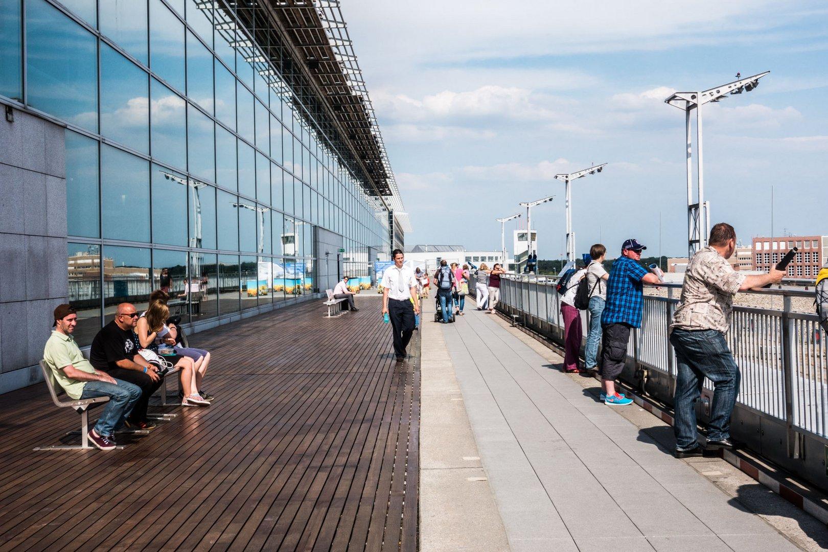 Fraport Besucherterrasse Foto Bild Deutschland Europe Hessen