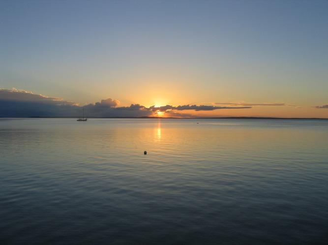 Fraser Island, Sunset