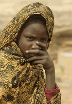 Frau aus der Wüste