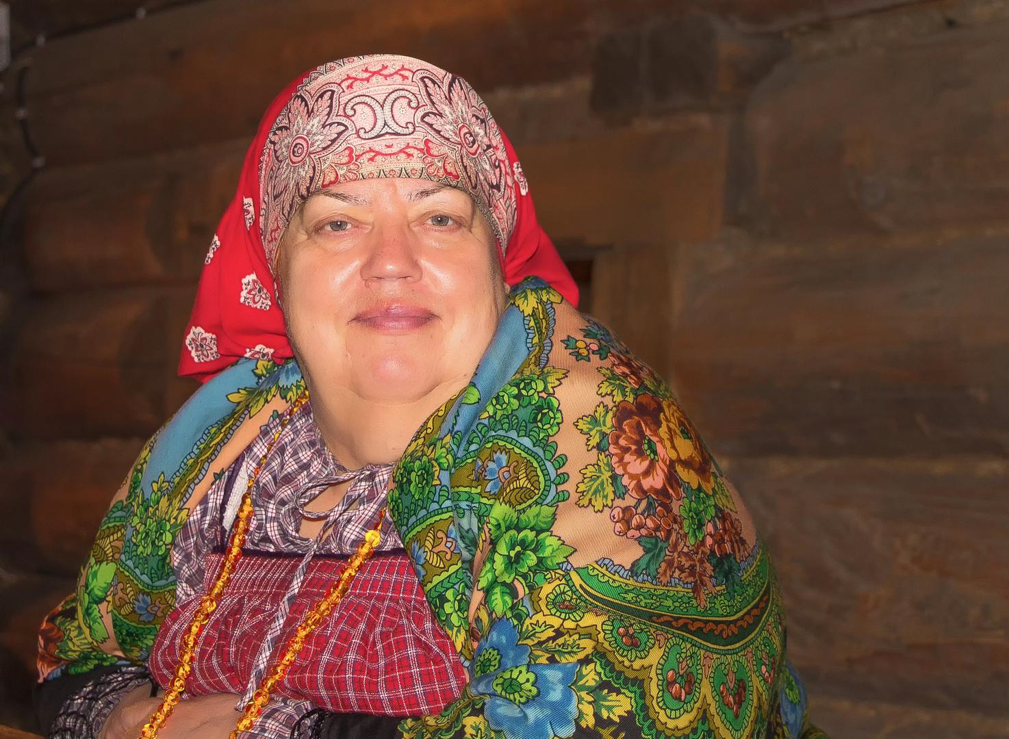 Frau aus Nordrussland