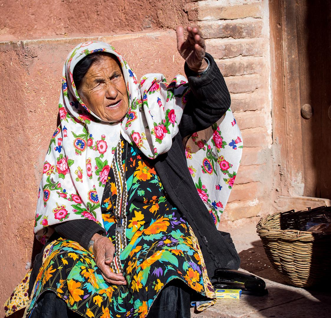 Frau in Abyaneh