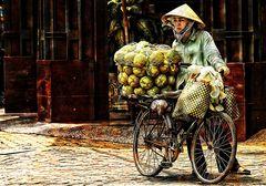Frau in Saigon