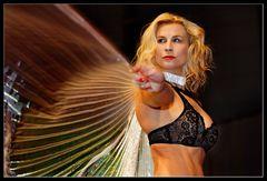 Frau mit Flügel
