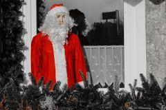 Frau Weihnachtsmann schaut immer etwas traurig aus wenn ihr Mann auf Dienstreise ist