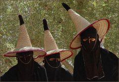 Frauen im Wadi Doan