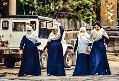 Frauen in Shagga, Syrien. ..120_4289