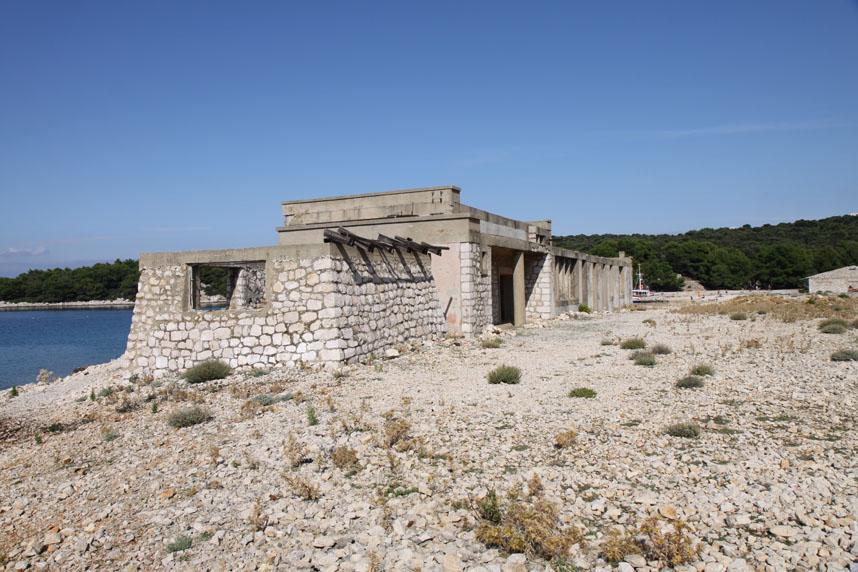 Frauengefängnisinsel im Urlaubsgebiet