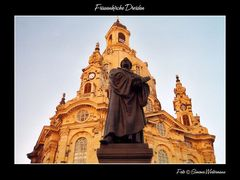 Frauenkirche Dresden mit...
