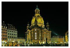 Frauenkirche in der Nacht