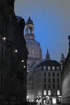 Frauenkirche und Fürstenzug