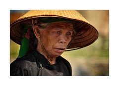 Frauenportait in Nordvietnam