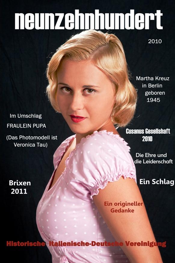 Fraulein Pupa un romanzo storico di Giuseppe Bronzi e Roberta Sprengler