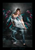Frecher Engel