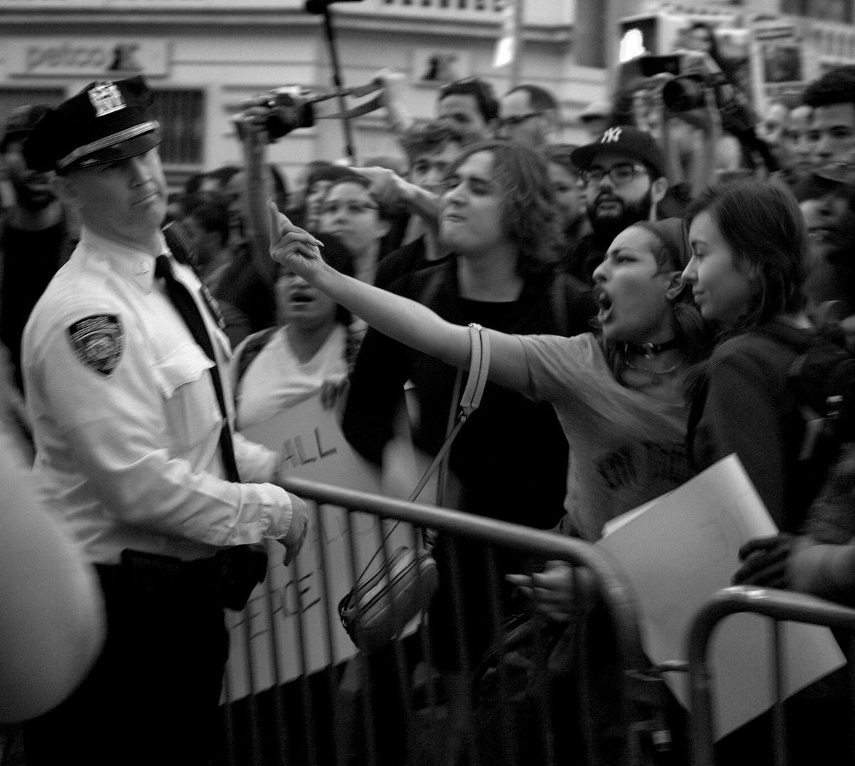 Freddie Gray Protest New York