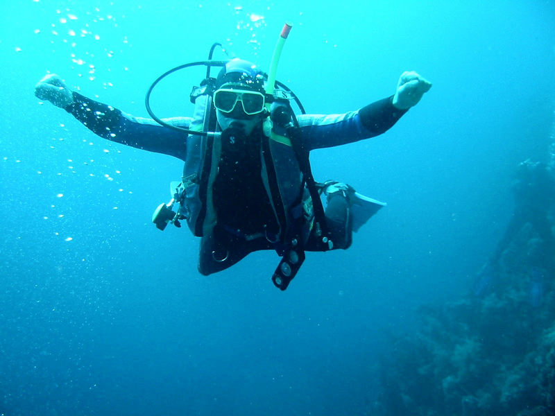 Free Diving is Fun