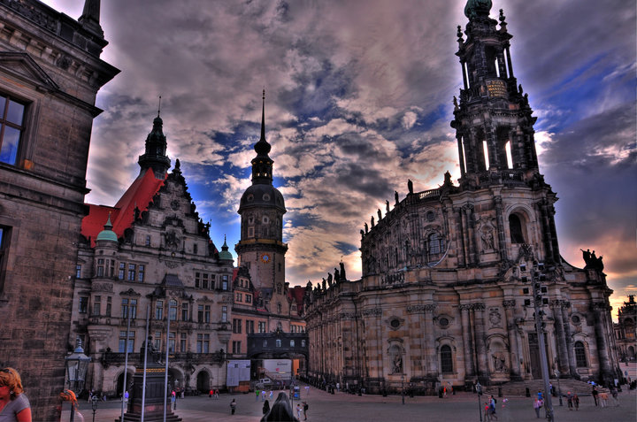 free hand HDR Dresden
