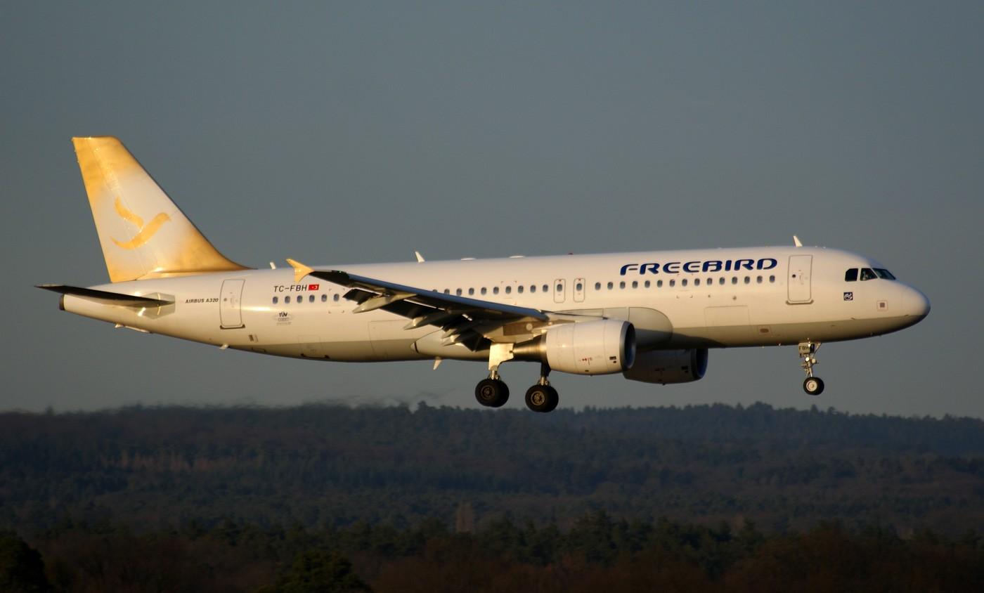 Freebird Airlines Foto Bild Luftfahrt Passagiermaschinen