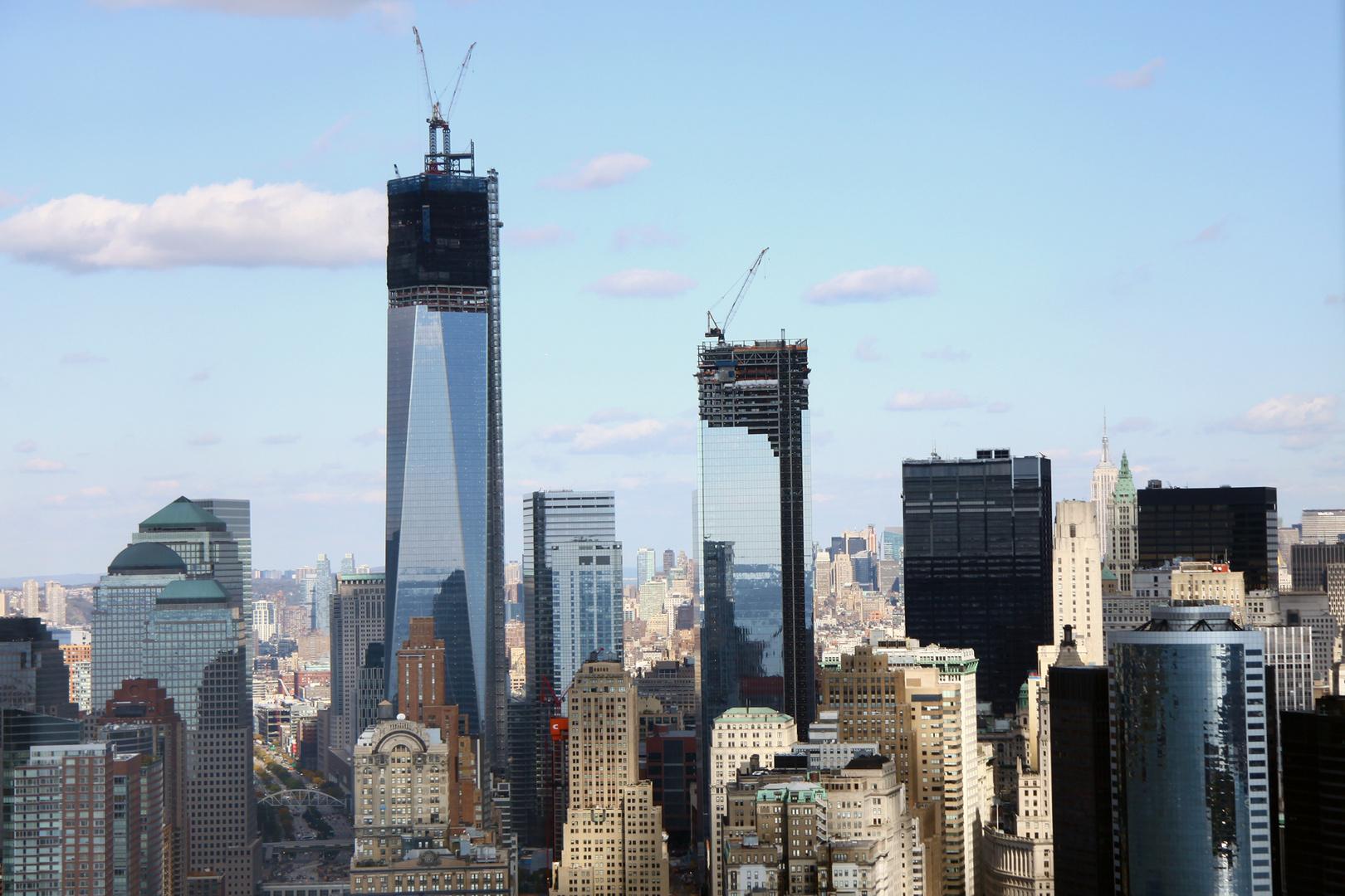 Freedom Tower New York City Foto Bild North America United