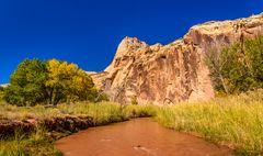 Freemont River, Capitol Reef NP, Utah, USA