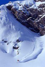 Freeride Skifahren - Powderline