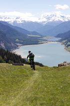 Freeride zum Reschensee