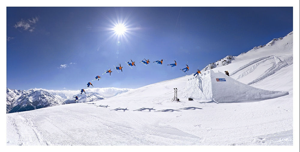 Freeskiing is a serious addiction