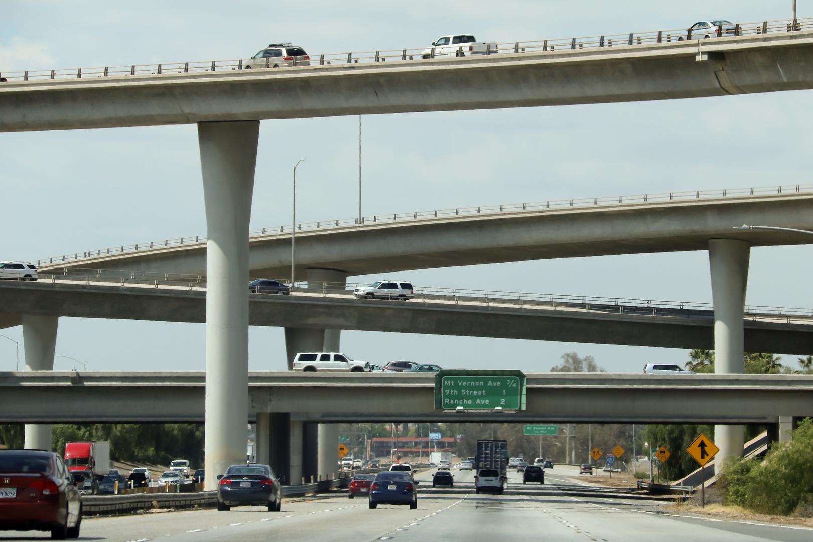 Freeway junction