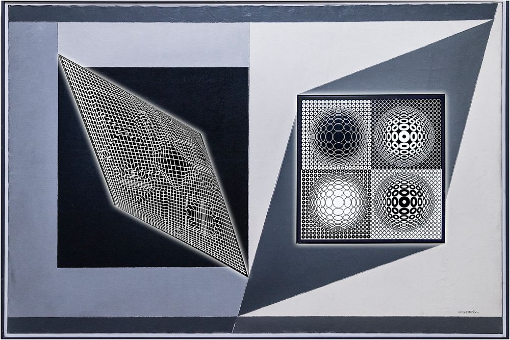 Frei nach VASARELY - Im Labyrinth der Moderne (13)