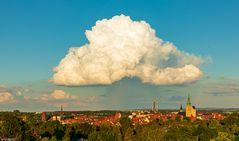 Freiberg mit Wolkendach (1)