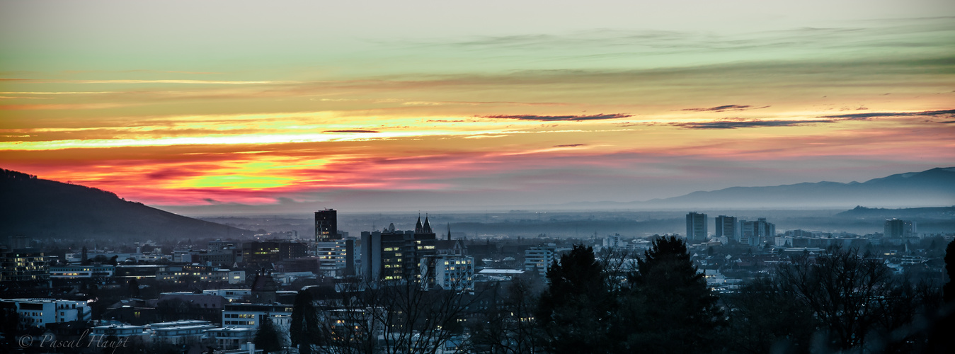 Freiburg / Sunset