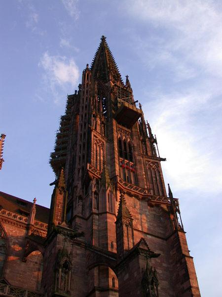 Freiburger Münster - heut mal wie gemalt