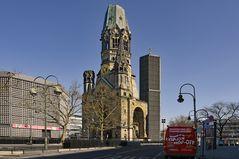 Freie Sicht zur Kaiser  Wilhelm Gedächniskirche Berlin - Charlottenburg -