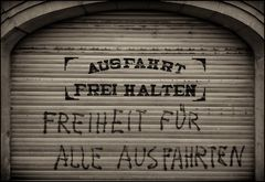 Freiheit aushalten!