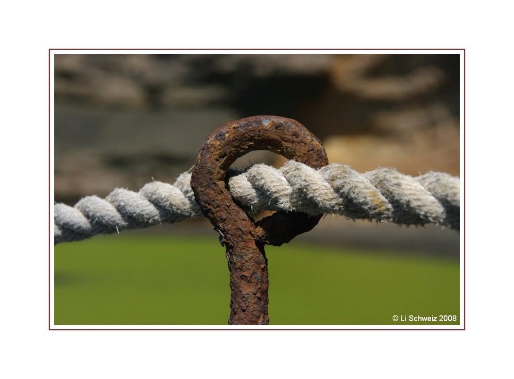 Freiheit frist sich durch die Abschrankung...