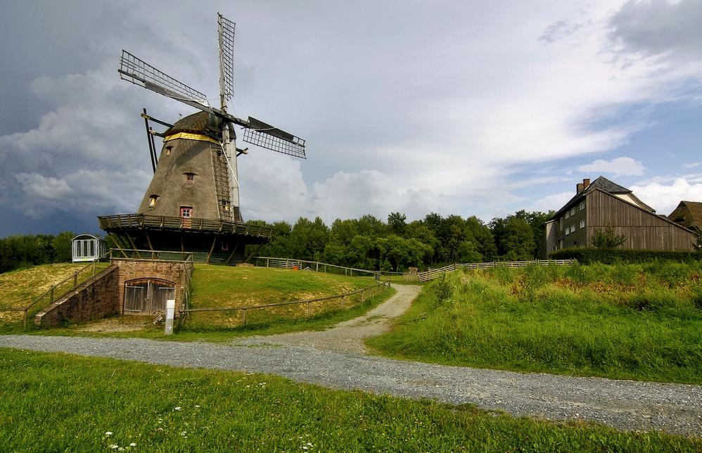 Freilichtmuseum Hessenpark ( VIII ) - die Windmühle