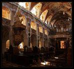 Freisinger Dom - Kanzel + Orgel