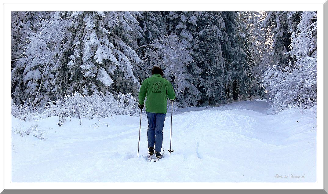 Freizeit im Schnee