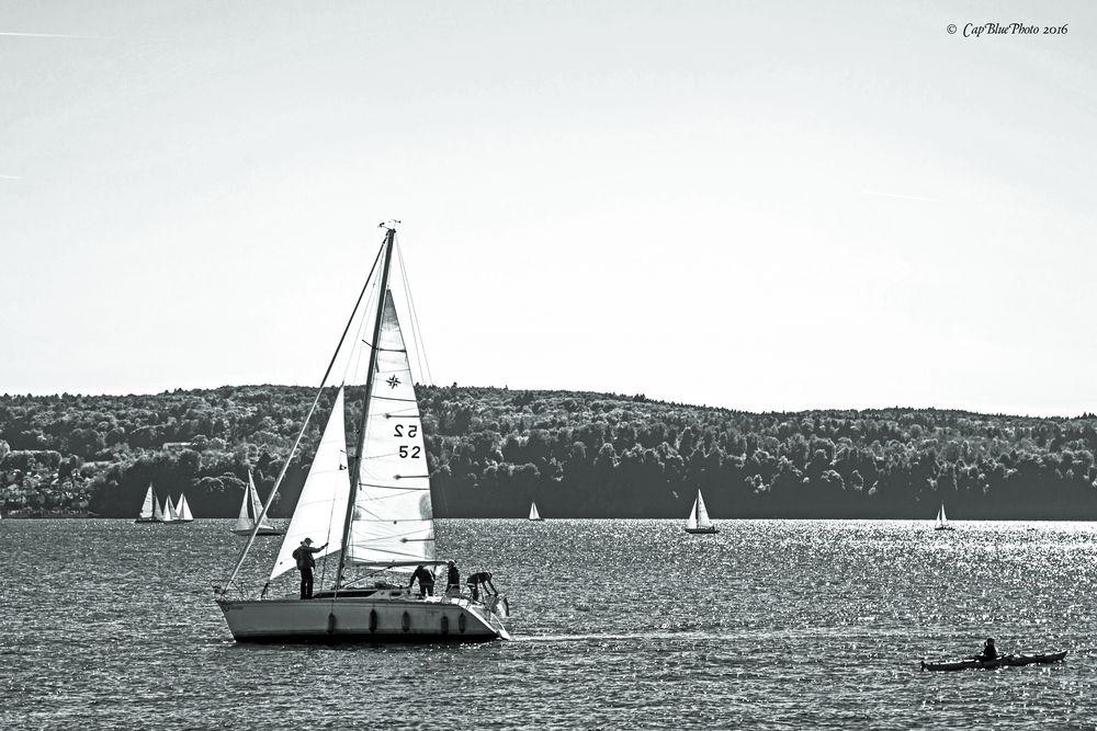 Freizeitgestaltung Segeln am Bodensee